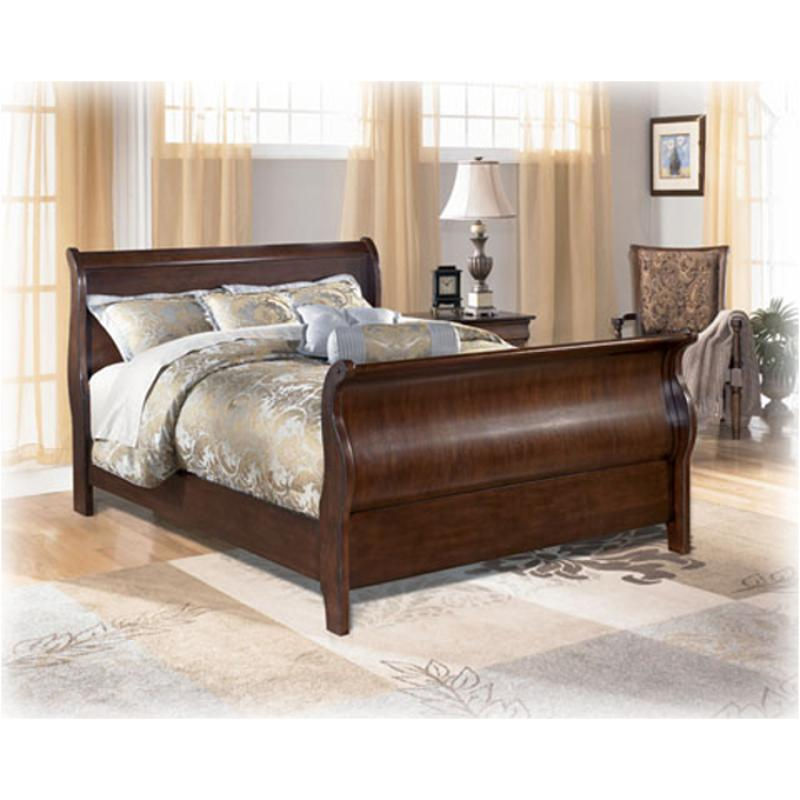 B657 77 Ashley Furniture Queen Upholstered Bed: B587-77 Ashley Furniture Belcourt Bedroom Queen Sleigh Bed