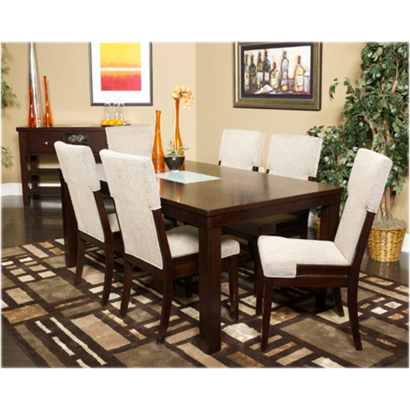 D561 25 ashley furniture ocean park rectangular dining table for Living rooms bedrooms dinettes