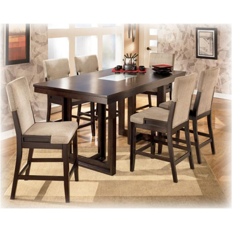 D561 32 Ashley Furniture Ocean Park Dining Room Counter Height Table