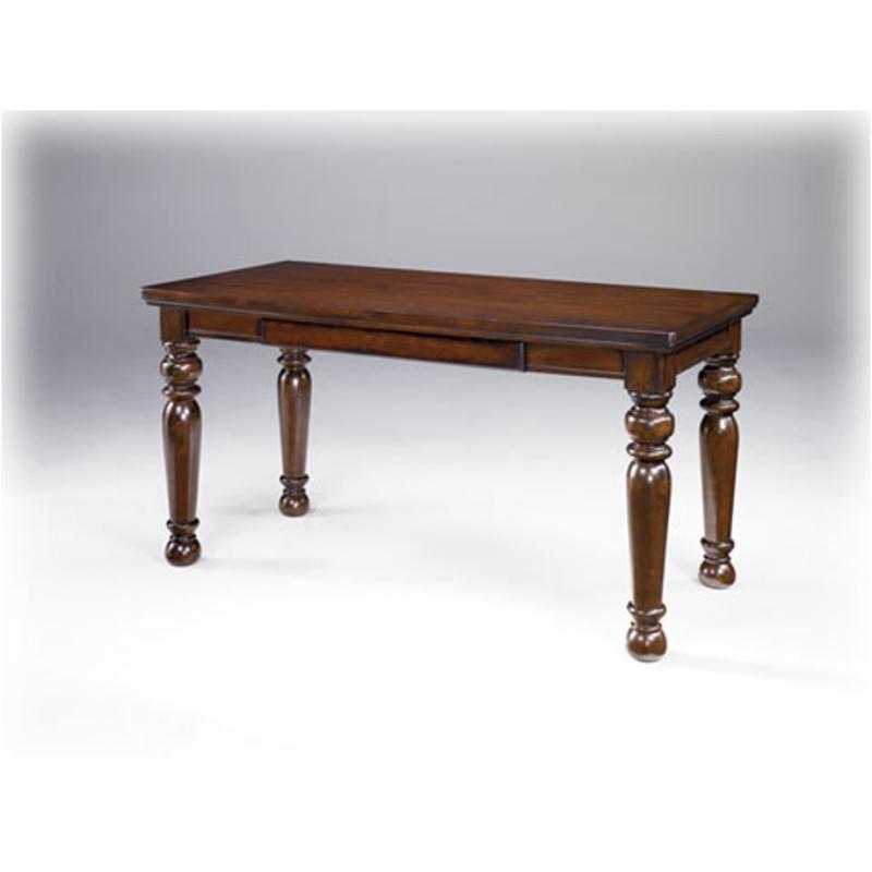 h697 44 ashley furniture porter brown home office desk