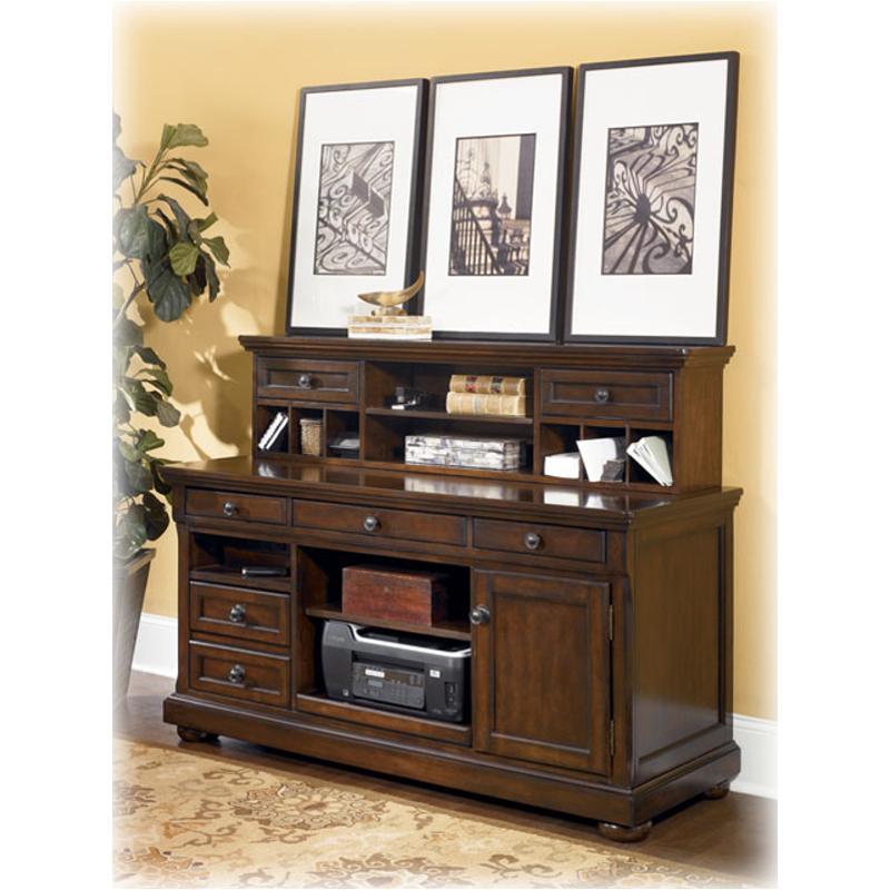 h697 48 ashley furniture porter home office desk