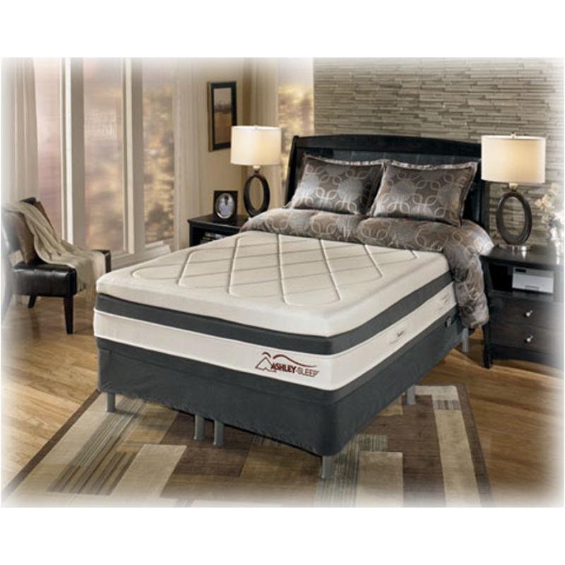 m74441 ashley furniture st george shores bedroom king mattress