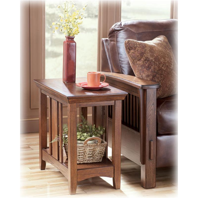 T545-7 Ashley Furniture Prairie View Chairside End Table