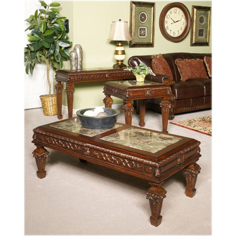ashley furniture north shore living room set t683 1 furniture shore rectangular cocktail table 27623