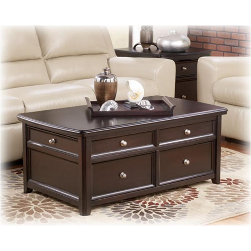 T771 20 Ashley Furniture Lift Top Tail Table