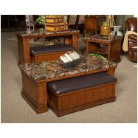Remarkable T838 4 Ashley Furniture Merihill Medium Brown Sofa Table W Ottoman Onthecornerstone Fun Painted Chair Ideas Images Onthecornerstoneorg