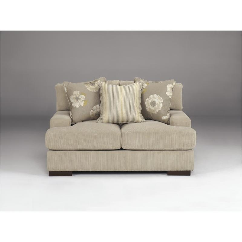 5920035 Ashley Furniture Pia Linen Living Room Loveseat Linen