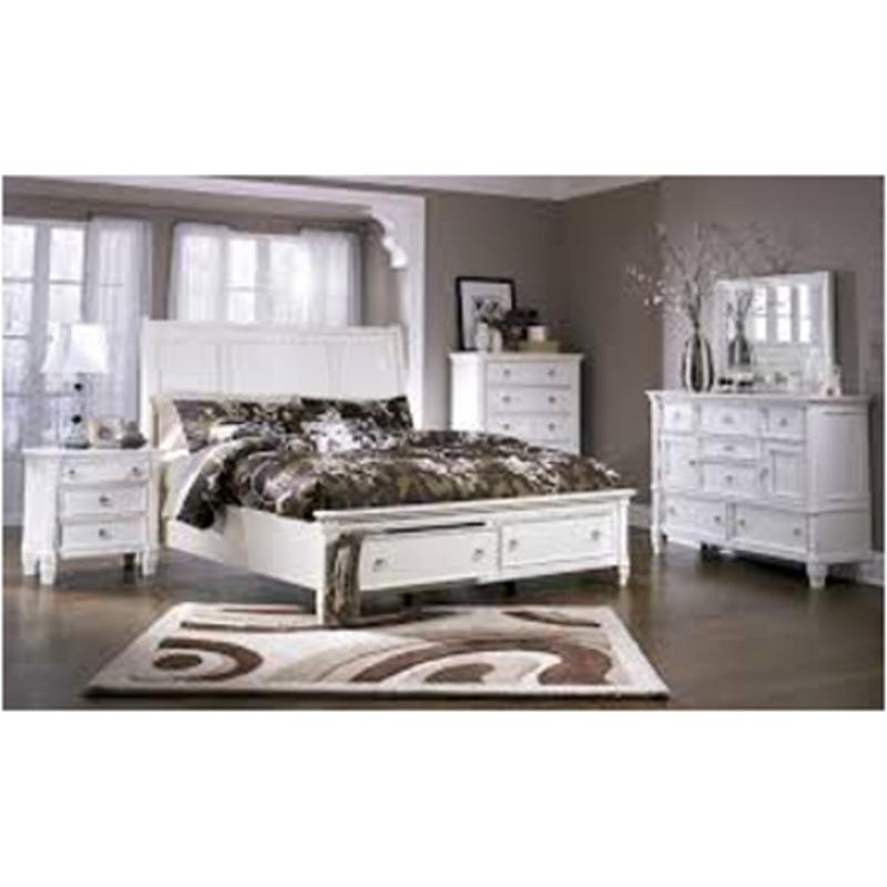 B672 36 Ashley Furniture Pice White Bedroom Mirror