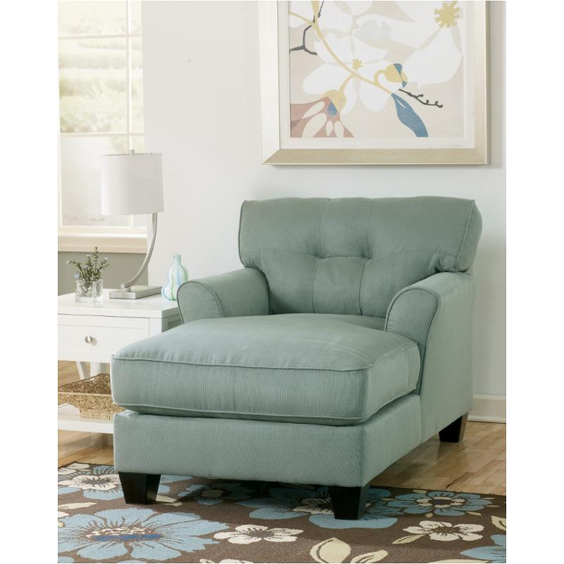 6640015 Ashley Furniture Kylee Lagoon Living Room Chaise