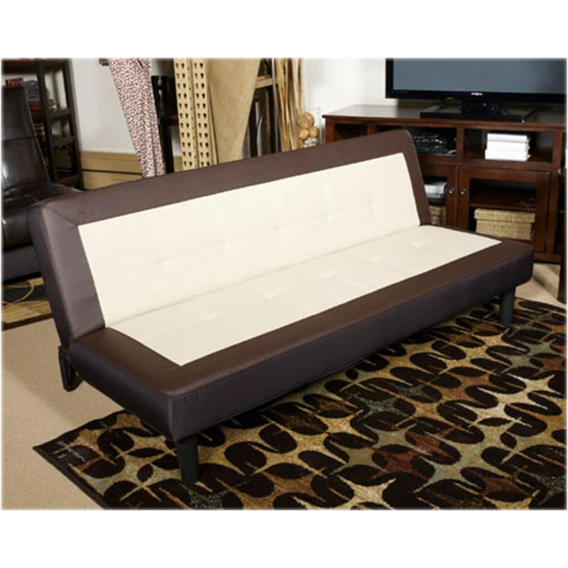 7130345 Ashley Furniture Ian Tuxedo Flip Flop Sofa