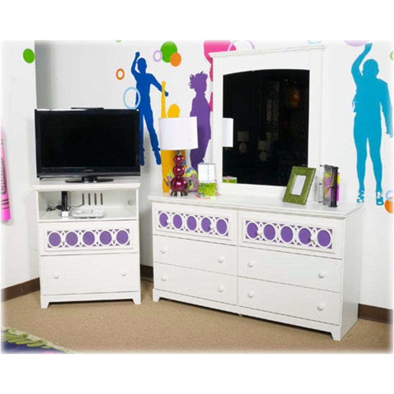 B131-38 Ashley Furniture Zayley Kids Room Chest - B131-38 Ashley Furniture Zayley Kids Room Media Chest