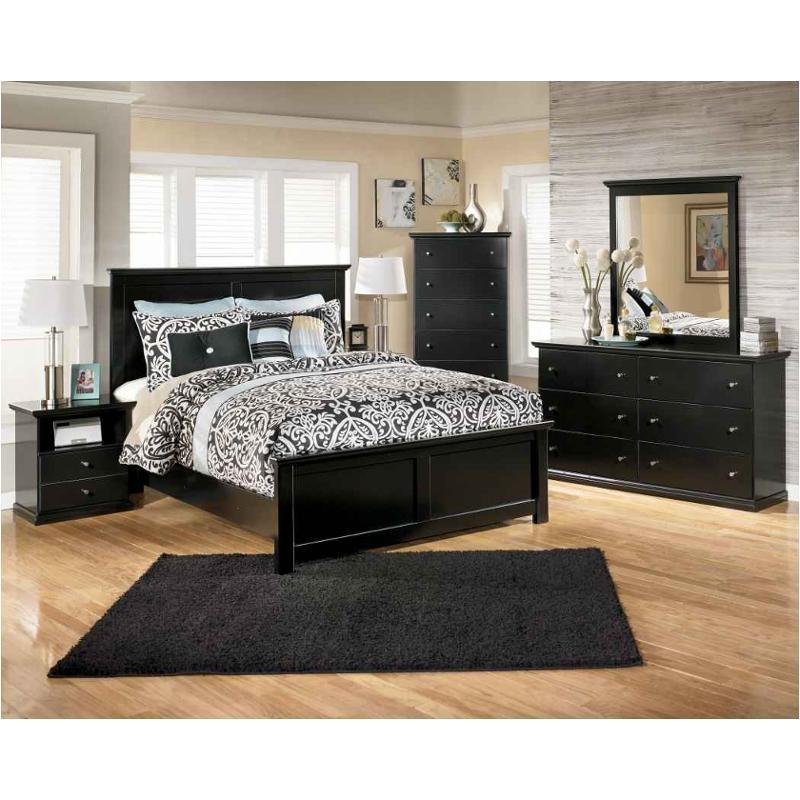 Ashley Home Furnature: B138-87 Ashley Furniture Maribel Bedroom Full Panel Bed