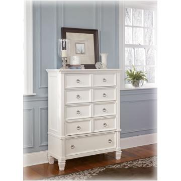 B672 46 Ashley Furniture Pice White Bedroom Chest