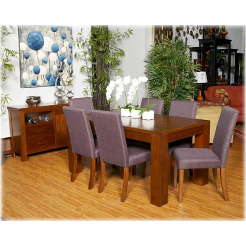 d391 25 ashley furniture haulani rectangular dining room table