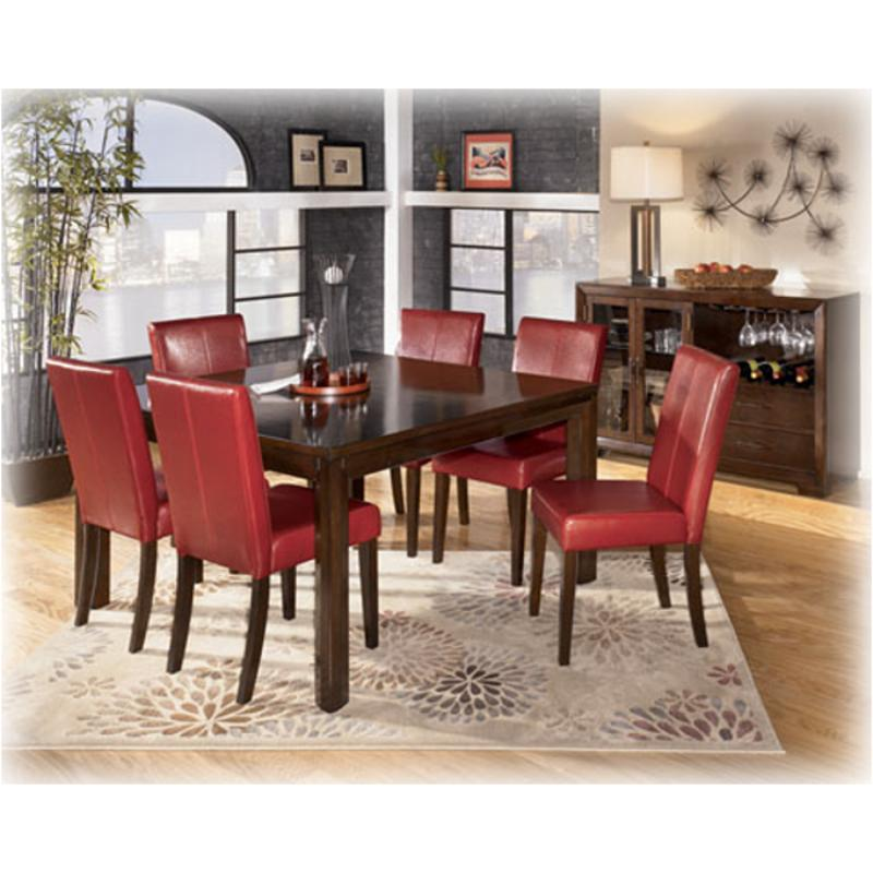 D432-38 Ashley Furniture Hansai Dining Room Square Dining Table