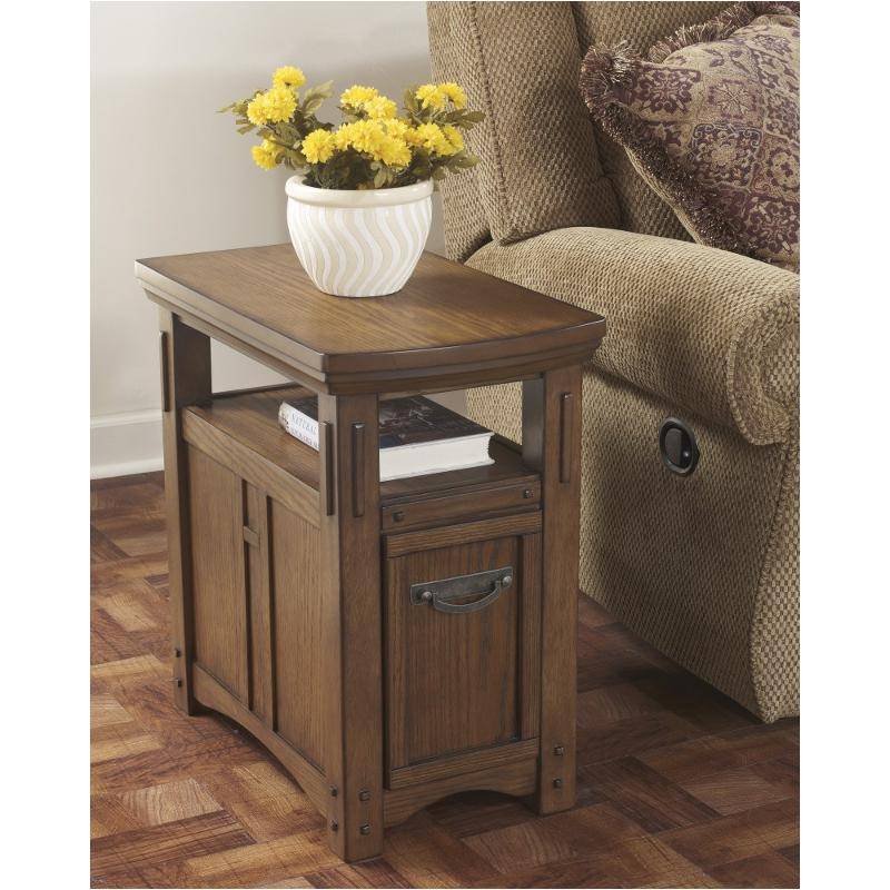 End Year Sale Ashley Furniture: T889-7 Ashley Furniture Kelvin Hall Chair Side End Table