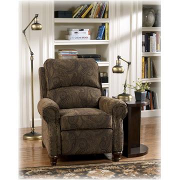 5140230 Ashley Furniture Deanville Antique Low Leg Recliner