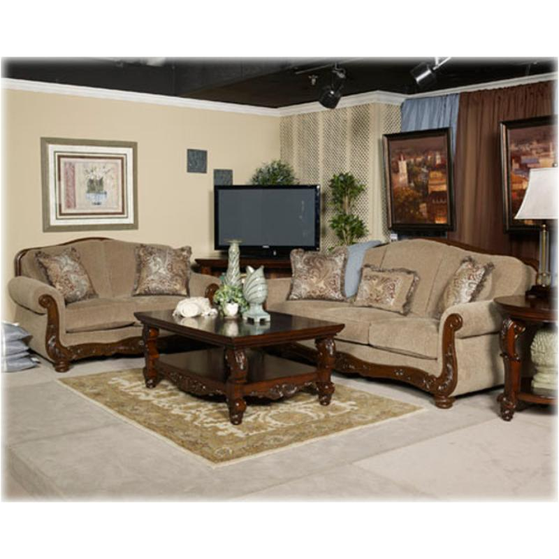 5730035 Ashley Furniture Martinsburg   Meadow Living Room Loveseat