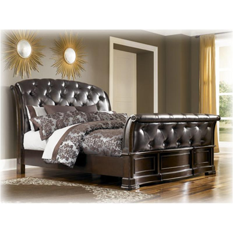 b613 78 ashley furniture barclay place bedroom king sleigh bed. Black Bedroom Furniture Sets. Home Design Ideas