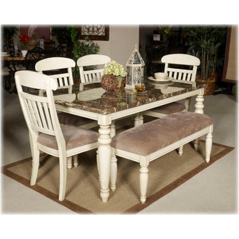 D Ashley Furniture Manadell Rectangular Dining Room Table - Ashley furniture white dining table
