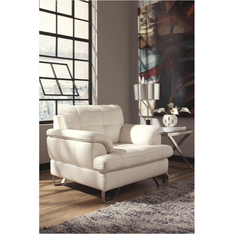 U8130020 Ashley Furniture Gunter - Brilliant White Chair