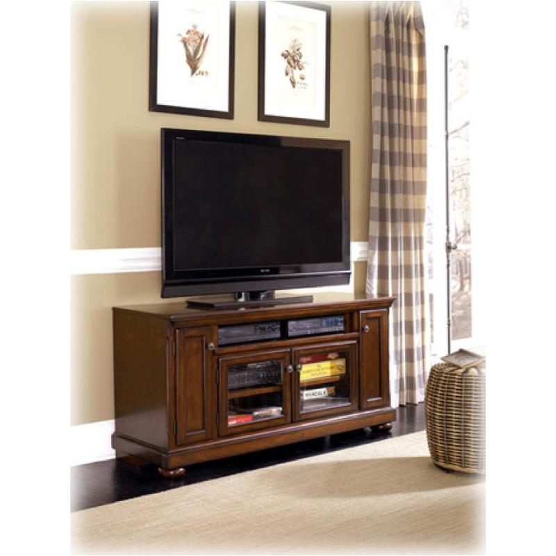 W697 38 Ashley Furniture Porter Rustic Brown Large Tv Stand
