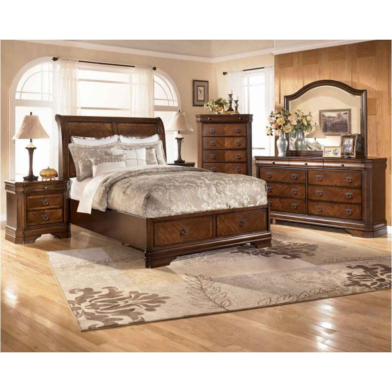 b527-58-st ashley furniture hamlyn king panel bed with