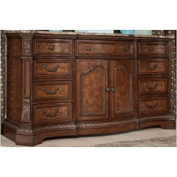 B705 31 Ashley Furniture Ledelle Brown Bedroom Dresser