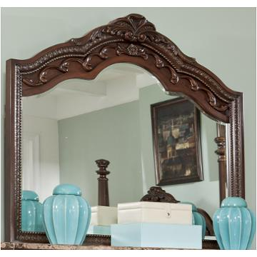B705 36 Ashley Furniture Ledelle Brown Bedroom Bedroom Mirror