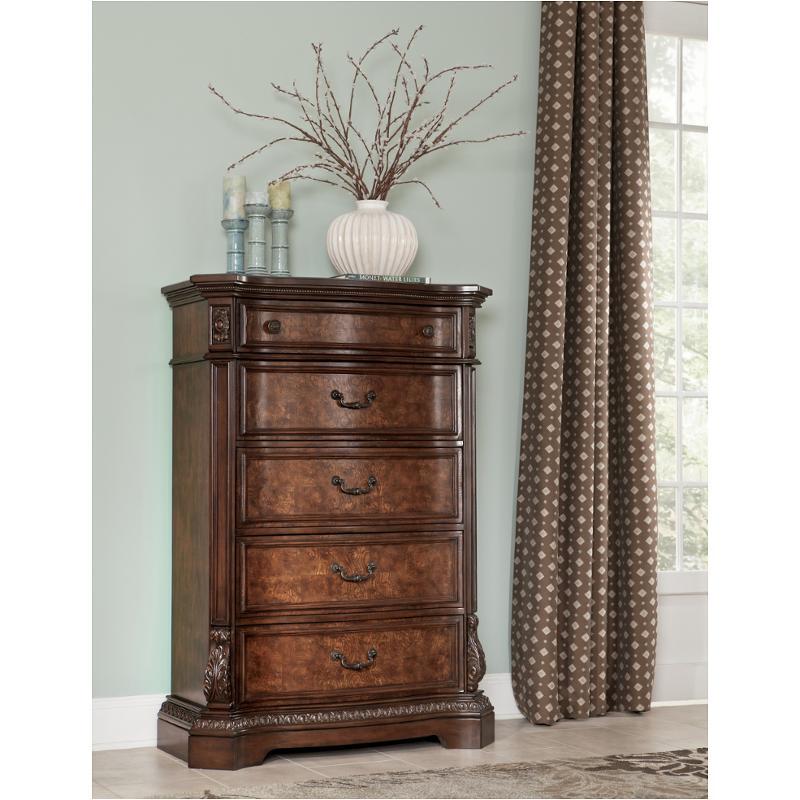 B705 46 Ashley Furniture Ledelle Brown Bedroom Chest
