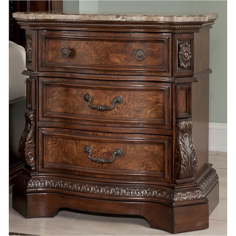 B705 93 Ashley Furniture Ledelle   Brown Bedroom Nightstand