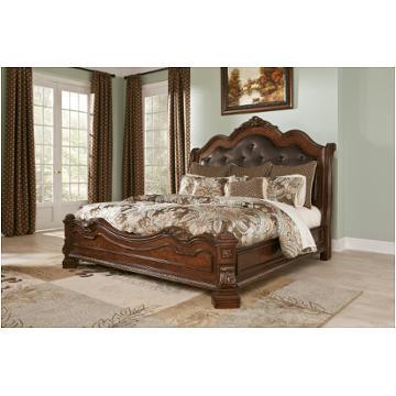 B705 54 Ashley Furniture Ledelle Brown Queen Sleigh