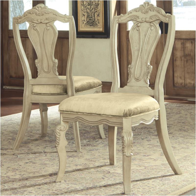 Ashley Furniture Millennium: D707-01 Ashley Furniture Ortanique Dining Upholstered Side