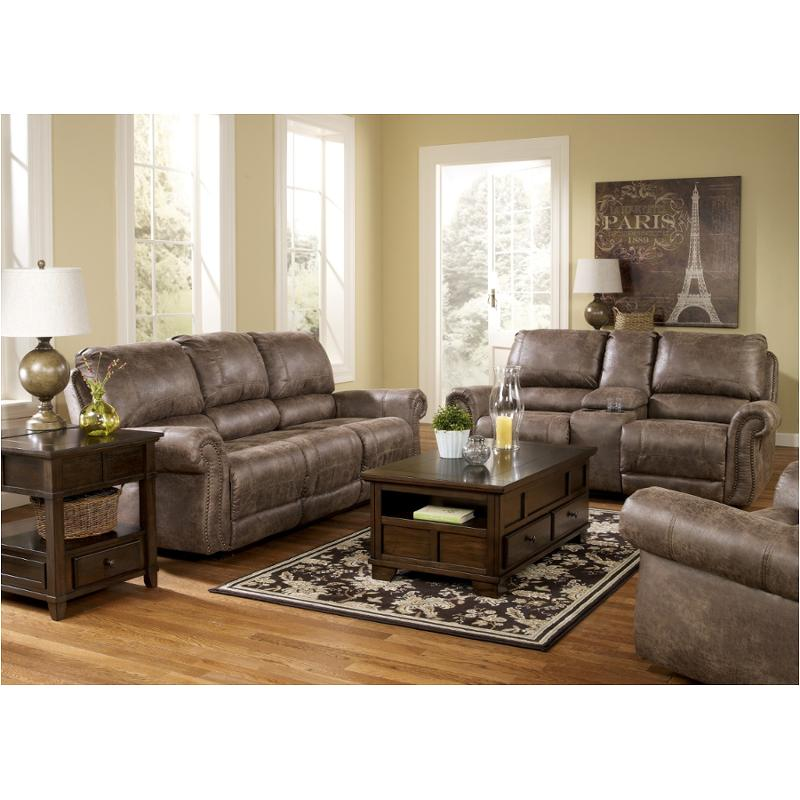 sc 1 st  Home Living Furniture & 7410088 Ashley Furniture Oberson - Gunsmoke Reclining Sofa islam-shia.org
