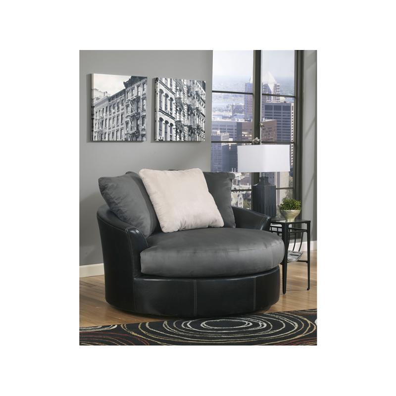 1420021 Ashley Furniture Oversized Swivel Accent Chair