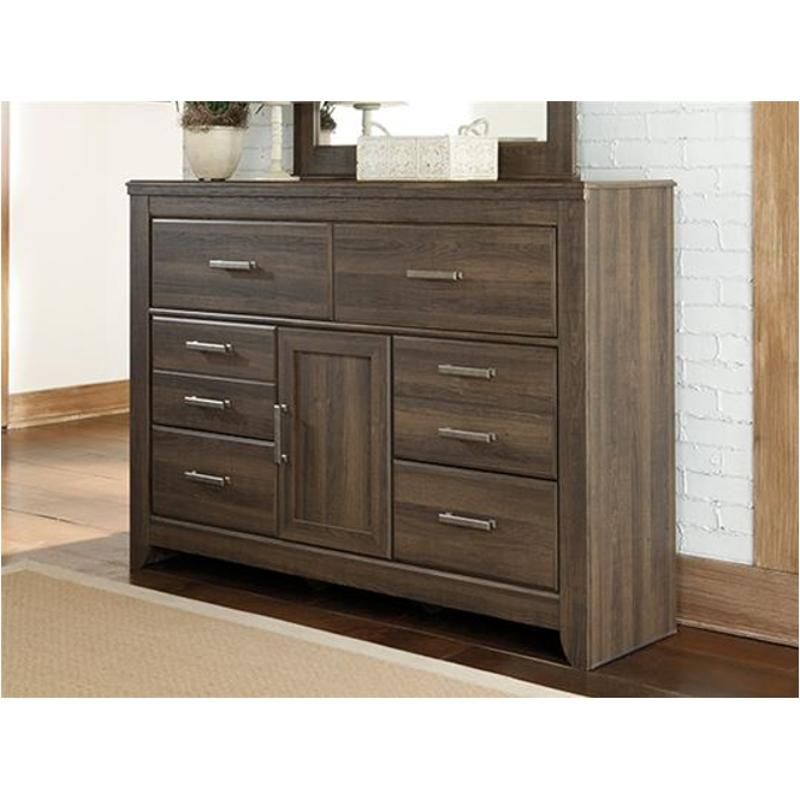 B251-31 Ashley Furniture Juararo - Dark Brown Dresser