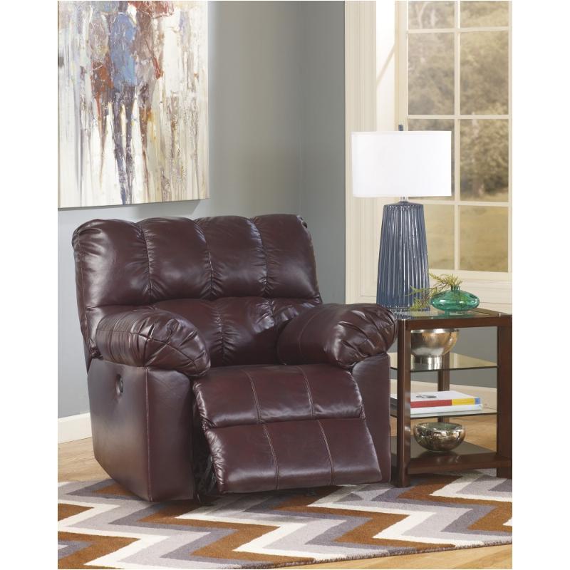2900098 Ashley Furniture Kennard Burgundy Living Room Recliner