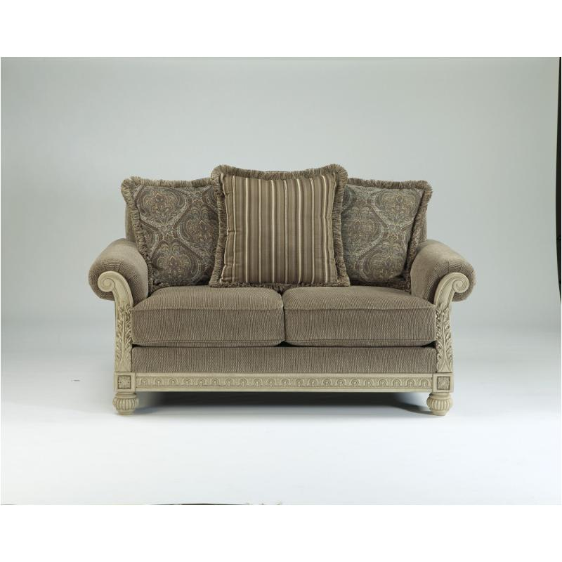 1620235 Ashley Furniture Parkington Bay Platinum Loveseat