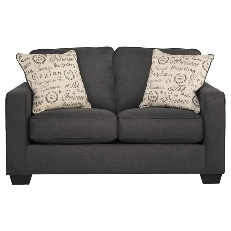 Ashley Furniture Alenya - Charcoal Living Room Loveseat