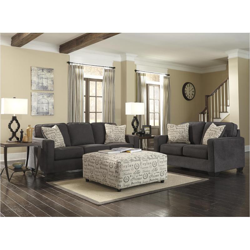 1660138 Ashley Furniture Alenya   Charcoal Living Room Sofa