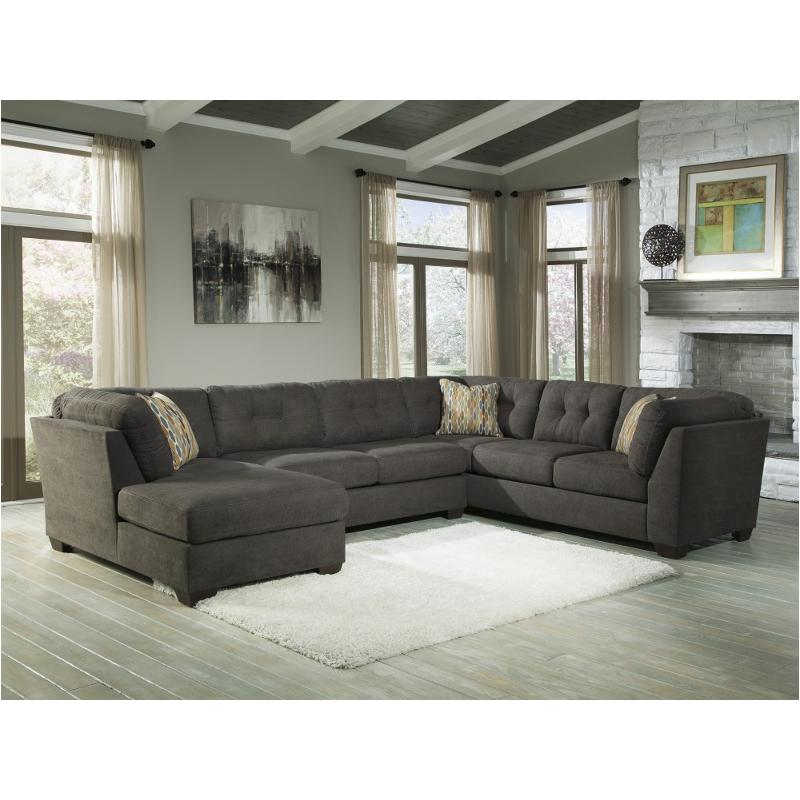 1970034 Ashley Furniture Delta City Steel Living Room Sectional