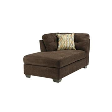 1970216 ashley furniture delta city chocolate laf corner for Ashley furniture laf corner chaise