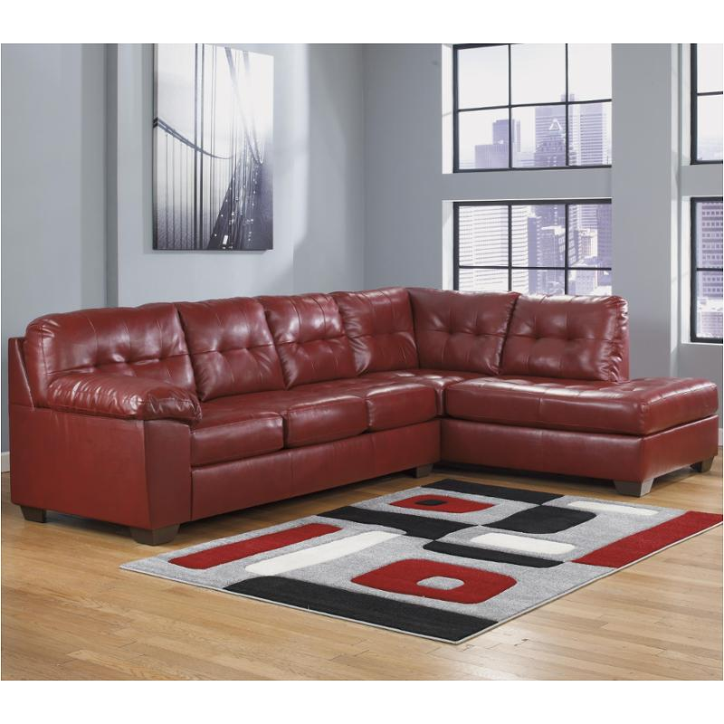 2010017 Ashley Furniture Alliston Durablend   Salsa Living Room Sectional