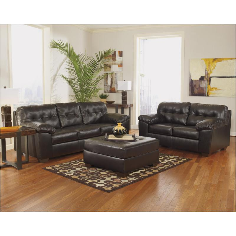 2010138 Ashley Furniture Alliston Durablend   Chocolate Living Room Sofa