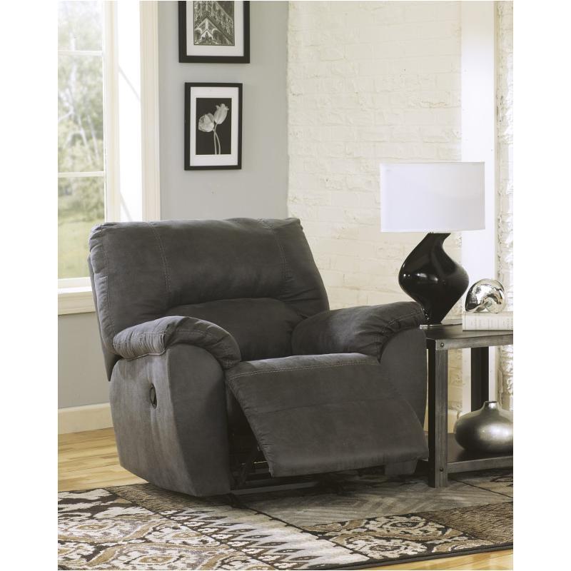 sc 1 st  Home Living Furniture & 2780125 Ashley Furniture Tambo - Pewter Rocker Recliner islam-shia.org