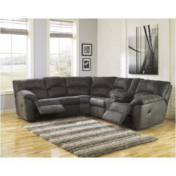 2780148 Ashley Furniture Tambo Pewter Laf Reclining Loveseat