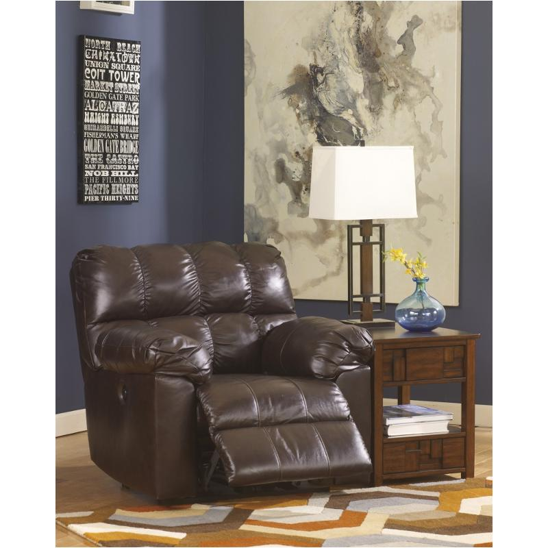 2900198 Ashley Furniture Kennard   Chocolate Living Room Recliner