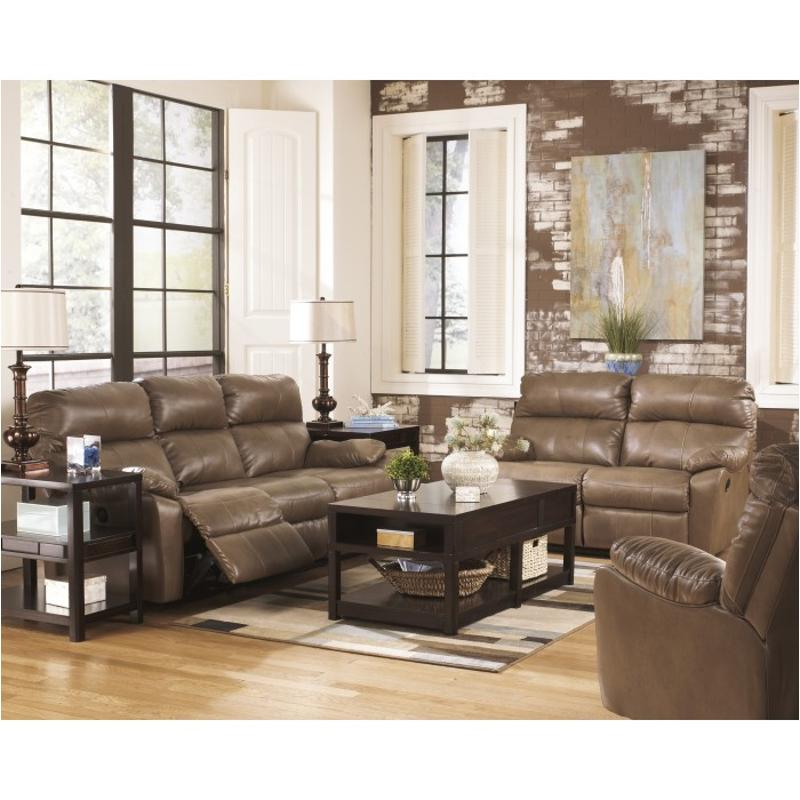 3020088 Ashley Furniture Windmaster Durablend Taupe Living Room Sofa