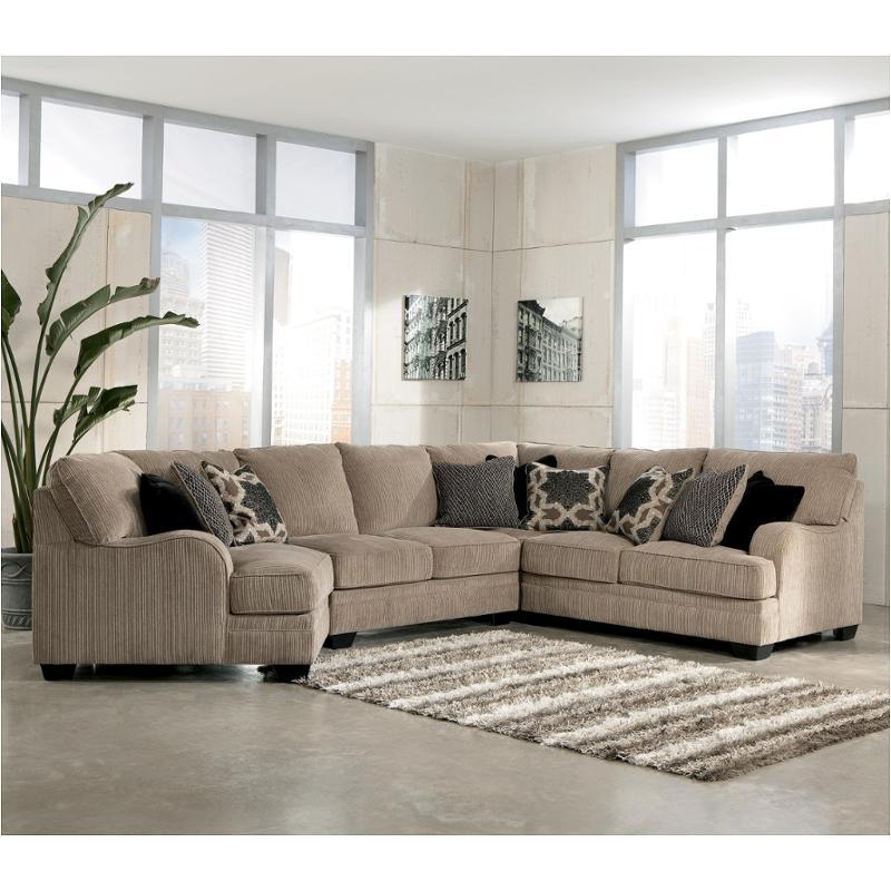 3050055 Ashley Furniture Katisha Platinum Laf Loveseat
