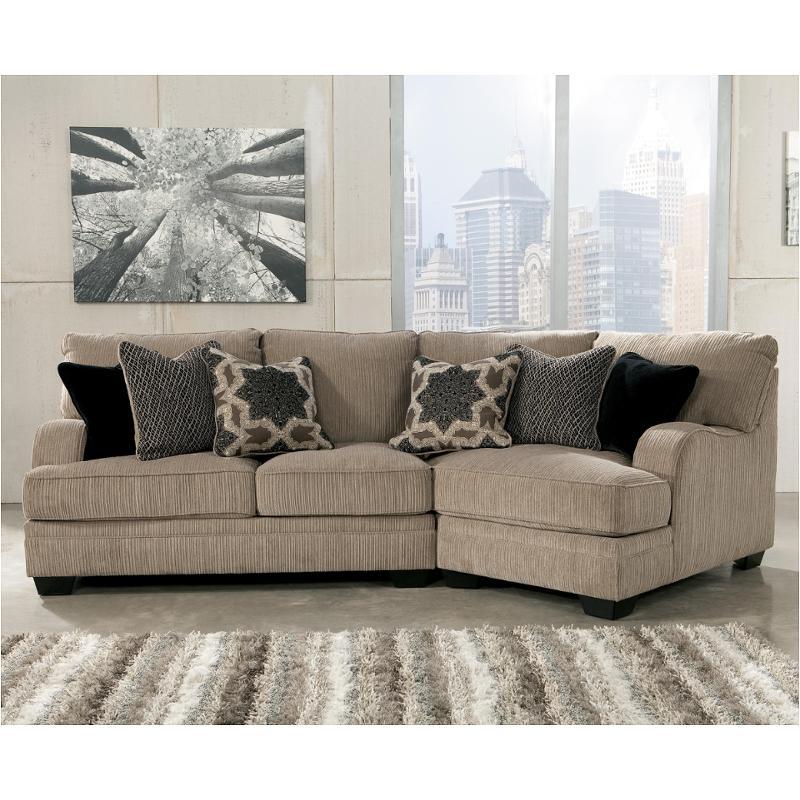 3050075 Ashley Furniture Katisha Platinum Raf Cuddler